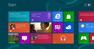 Interfata Metro Windows 8